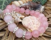 Фино, елегантно, изискано! Луксозен комплект - колие, обеци и гривна от естествени перли за Вас дами!