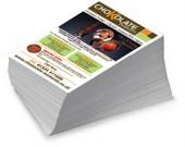 Откъде да поръчате качествени рекламни флаери и листовки