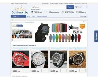 Онлайн магазин Дон Барон - Donbaron.bg
