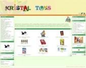 """""""Кристал"""" - Внос и търговия с детски играчки"""