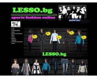Онлайн магазин за дрехи LESSO.BG