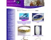 МЕРКАТОР. Mагнитни гривни и колиета с позлата, перли