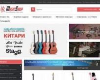 Онлайн магазин за музикални инструменти  - music-shop.bg