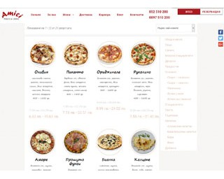 pizzaamici.com